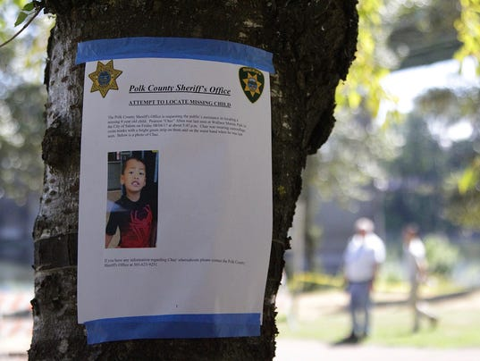 Officials continue search for missing boy at Wallace Marine Park