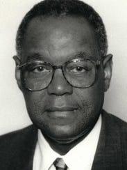 Former Flint Mayor James Sharp, photographed during