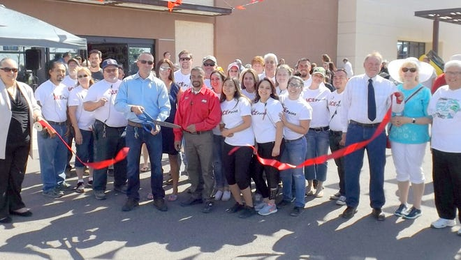 Ace Hardware in Silver City celebrated its 10th annivesary Saturday. It included a ribbon cutting ceremony.