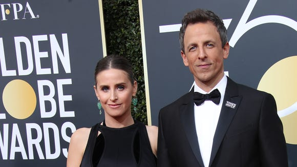 3e92e22771 Seth Meyers  wife Alexi Ashe gives birth in apartment building lobby