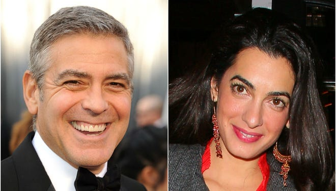 George Clooney is reportedly engaged to lawyer Amal Alamuddin.