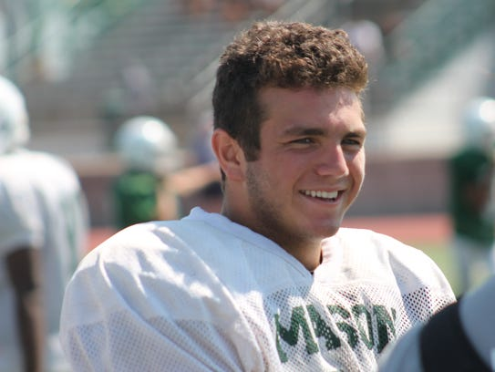 Matt Sora was fourth in the GMC in rushing as a junior