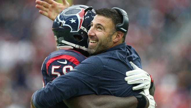 Mike Vrabel played 14 seasons in the NFL.