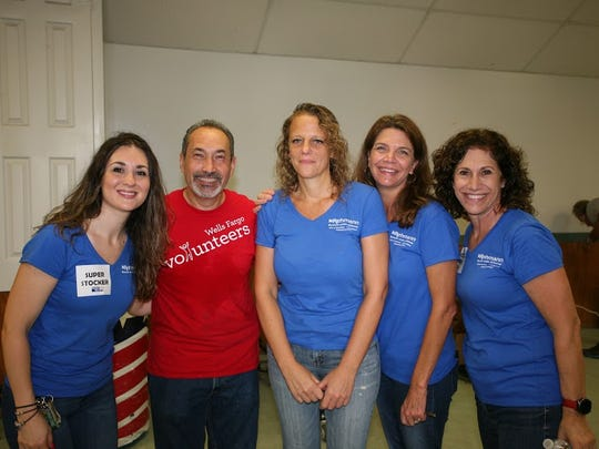 United Way of Martin County Day of Caring volunteers