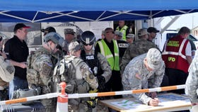 Emergency responders joined together for a similar Crisis Response Exercise last summer at Fort Bliss