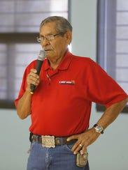 Larry Martinez, a representative of the Cold War Patriots,