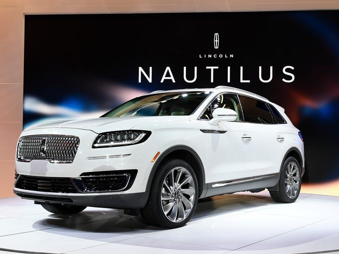 The Lincoln MKX becomes the Lincoln Nautilus as the