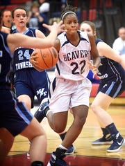Neesha Pierre has enjoyed a breakout sophomore season that has helped the Lebanon Catholic girls into the L-L playoffs.