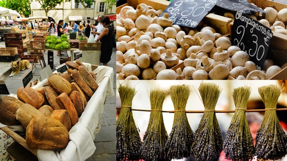 Good stuff at the Wednesday market in Uzès.