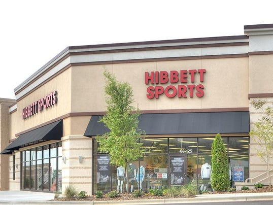 Hibbett Sporting Goods «Return to the Store Directory Page. Hibbett is a premium athletic retailer bringing you the very best in footwear, apparel and equipment. Our friendly and knowl edgeable staff can help you accomplish your fitness goals and jumpstart your hometown team to their winning season.