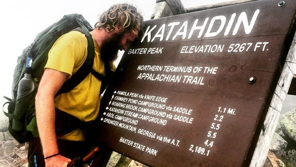 Tyler Socash, 29, completed his 6,600-mile international