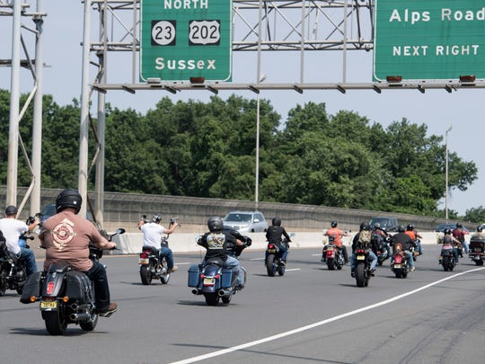 Annual motorcycle run to benefit Jayden Singer on Saturday. Jayden had bacterial meningitis when he was 3 years old, and as a result he suffers from seizures and is unable to hear or speak. Jayden is the son of Andy Singer, a retired Passaic County Sheriff's Department detective.