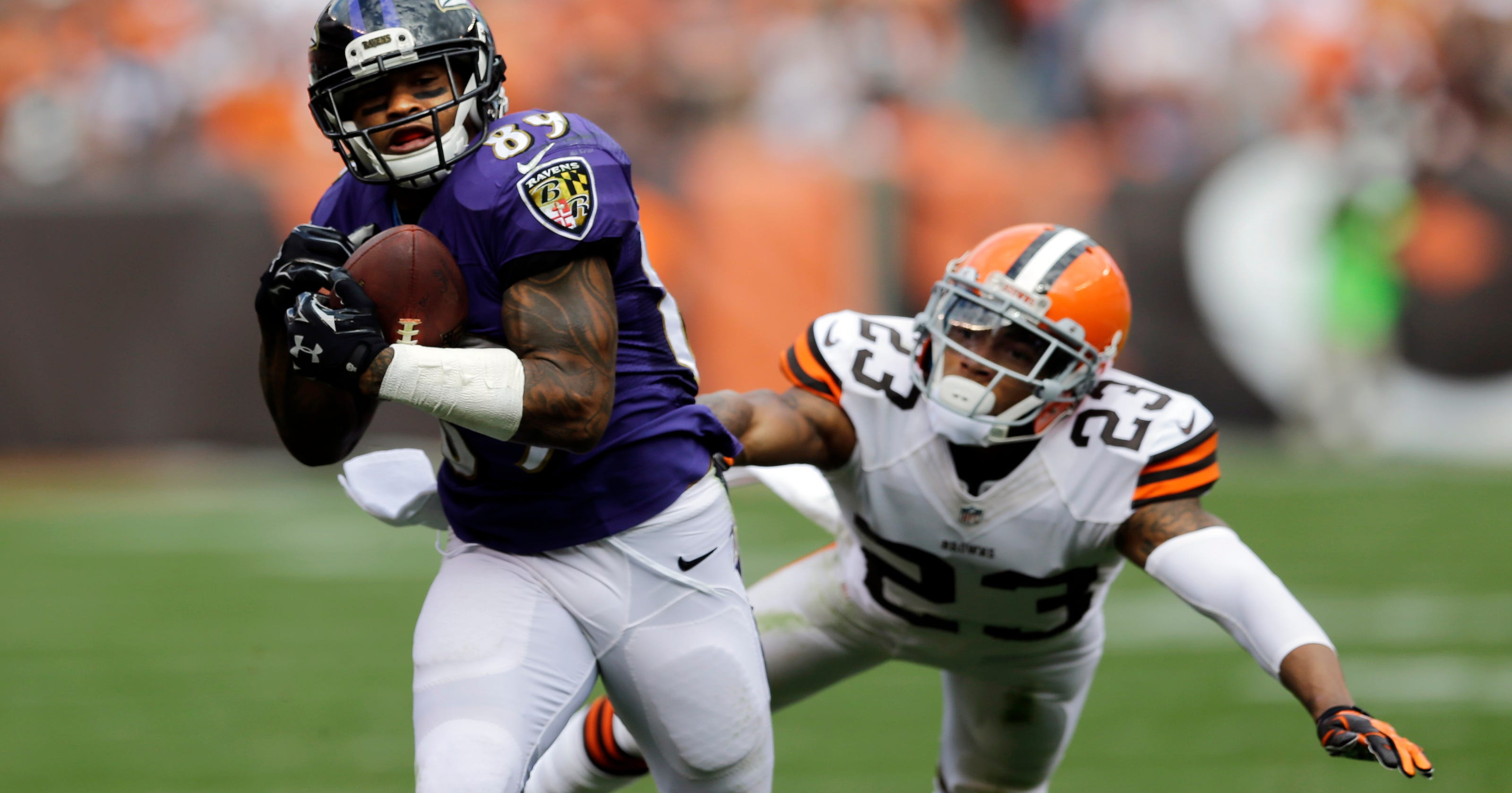 9fc84ea30d54 Payback time  Ravens  Smith eager to face Panthers