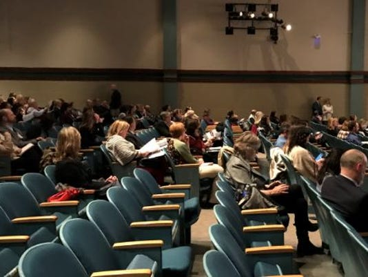 Educators attend mental health series