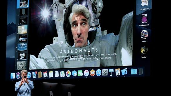 Apple's senior vice president of Software Engineering