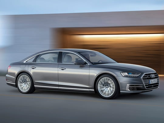 This photo provided by Audi shows the 2019 Audi A8