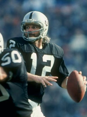 Former Raiders quarterback Ken Stabler threw for 27,938 yards during his 15-year career.