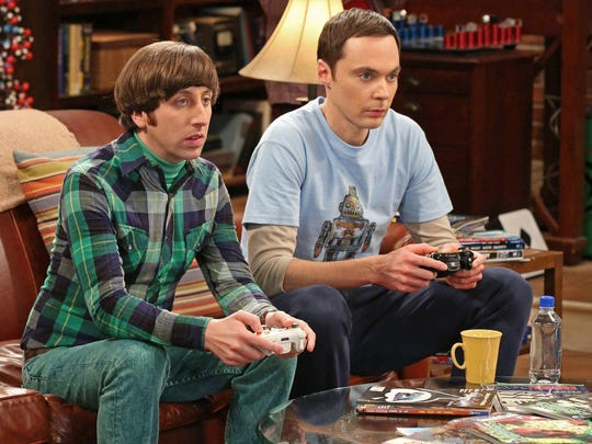 "Simon Helberg, left, and Jim Parsons in ""The Big Bang Theory,"" which brings its 12-season run on CBS to an end Thursday with a one-hour special episode."