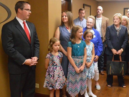 Jeff McKnight is running for 30th District Court Judge, Wichita County.