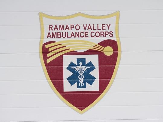 Ramapo Valley Ambulance Corps logo on an ambulance