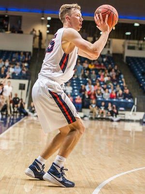 Belmont's Evan Bradds is one of the nation's top field goal percentage shooters again this season.