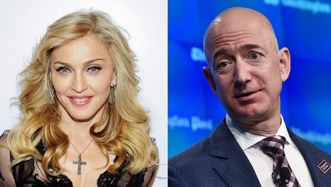 Madonna wants Jeff Bezos to invest in Detroit.