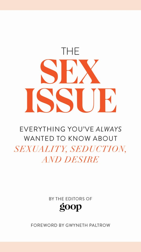 The cover of 'The Sex Issue' from the editors of Goop.