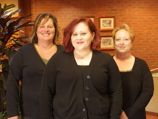 From left: Jill Rickle, Michelle Druck-Mitchell and