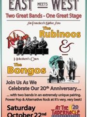 A poster for the 20th anniversary concert at the Mount