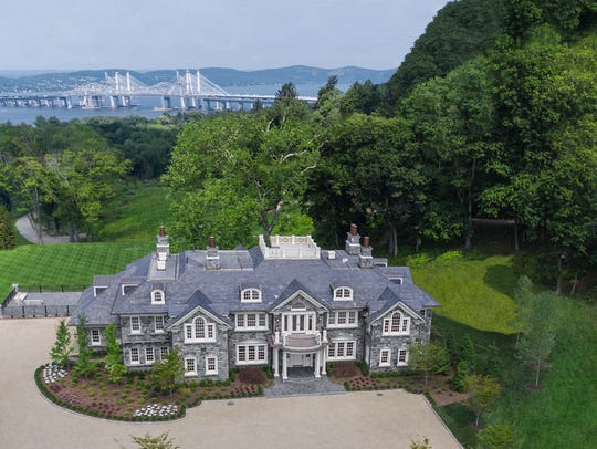 This newly constructed estate property in Tarrytown