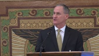 Gov. Daugaard delivers the State of the State address Tuesday.