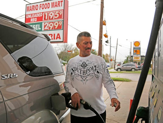 AP GAS PRICES TEXAS A F USA TX