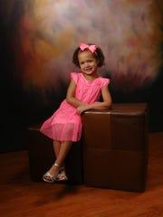 Kayla Britton's daughter Zakaia.