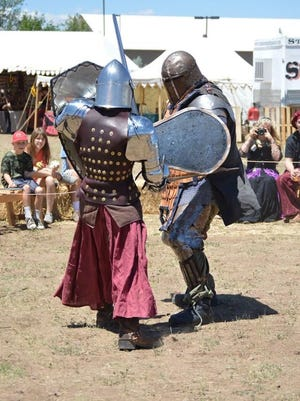 Armor-wearing combatants will duel it out at the Medieval Mayhem Renaissance Faire in Pinetop-Lakeside.