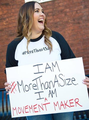 Rebecca Wattenshaidt (pictured),owner of Elizabeth & West Fashion House in York City and fashion blogger for Mommy in Heels, launched a social media movement Jan. 15 to show that men and women are #MoreThanASize.