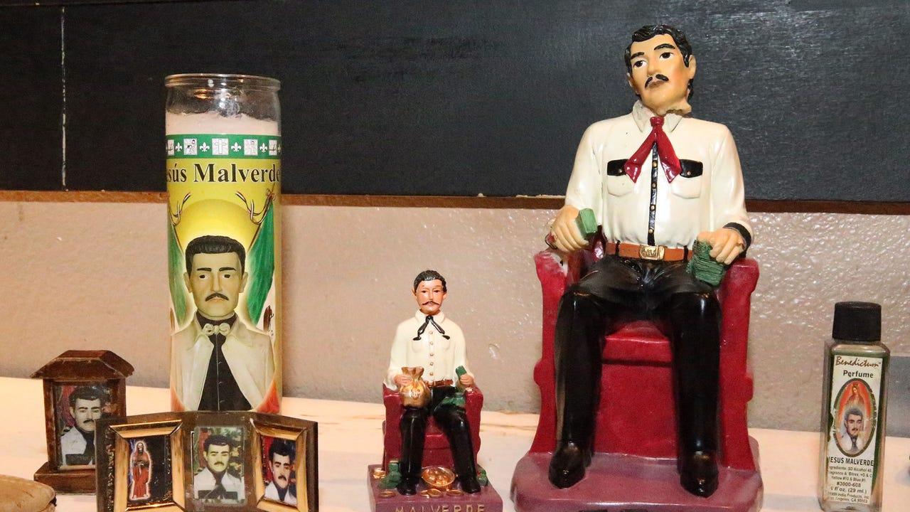 Law enforcement consultant Robert Almonte discusses narco-saint Jesus Malverde.