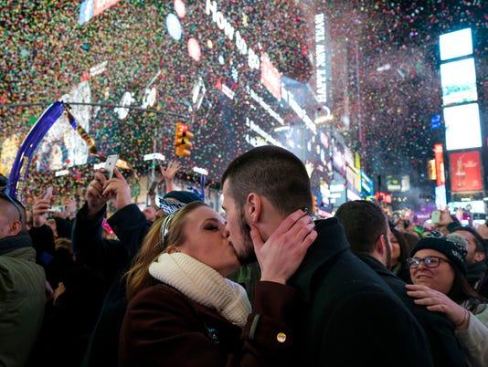 AP APTOPIX NYC NEW YEARS EVE A USA NY