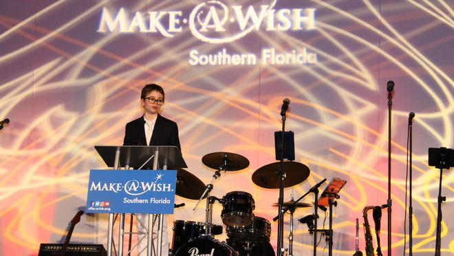 Wish Child Este Cadiou speaks about his illness and the power of his wish.
