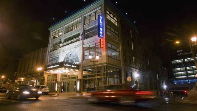 The Queen Theatre in Wilmington on the night of its soft opening, March 30, 2011