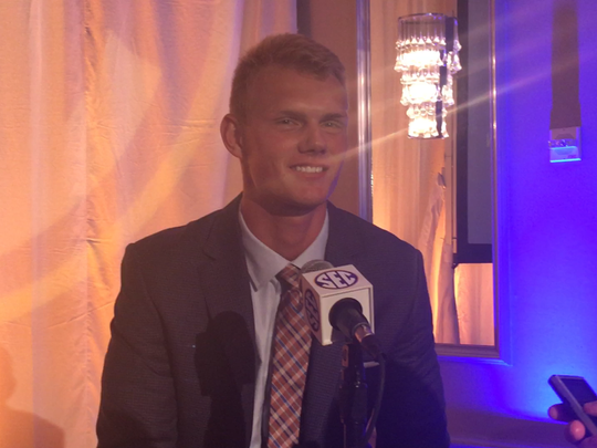 Auburn's Daniel Carlson will now cheer on his younger brother, Anders.