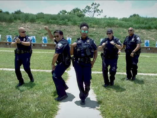 Palm Bay Police Lip-Sync Challenge