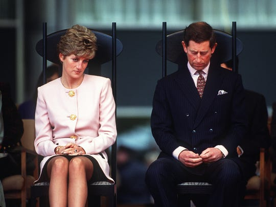 During a 1991 official visit to Canada, Princess Diana and Prince Charles seemed miles apart.