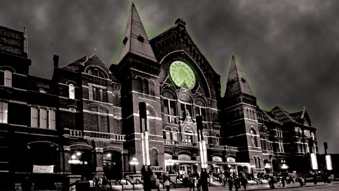"""Music Hall, built over two cemeteries, will be examined by Syfy's """"Ghost Hunters"""" on Oct. 29."""