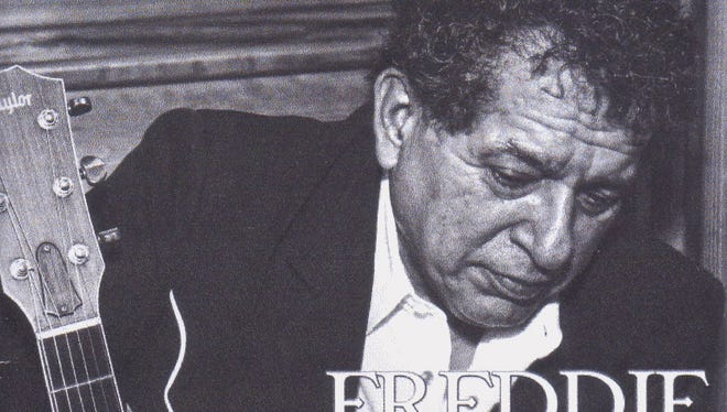 """Freddie Pate is pictured on the cover of his new CD, """"Crossroads."""""""