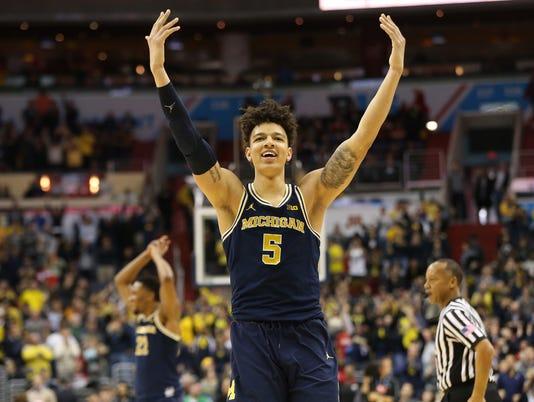 NCAA Basketball: Big Ten Conference Tournament Final-Michigan vs Wisconsin