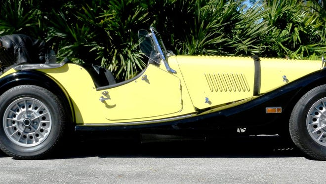 Local car collector Gary Eidson lands rare vintage British dream a 1971 Plus 8.