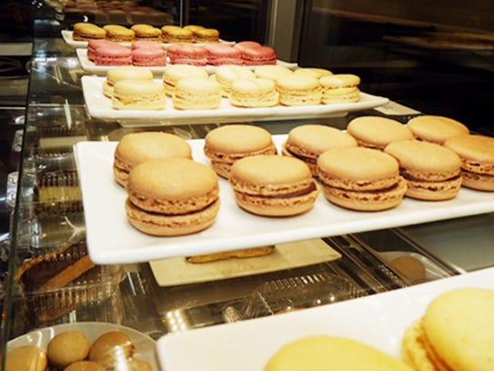 French Macarons at Primo Gelato Cafe in Shreveport.