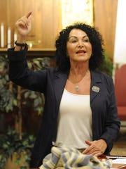 Monica O'Desky, cantor at Temple Mizpah.
