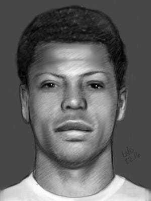 Mauldin police released a sketch of a burglary suspect.