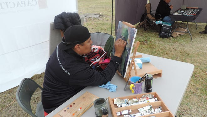 American Indian artists from the Four Corners area participated in last year's American Indian Cultural Arts Festival at Aztec Ruins National Monument.